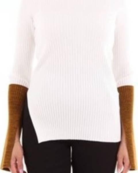 Bílý svetr Moncler