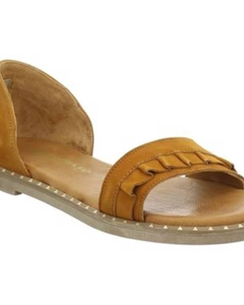 Hnědé sandály tamaris