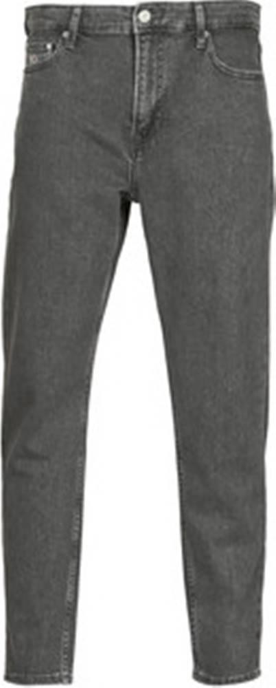 Tommy Jeans Tommy Jeans Rifle rovné DAD JEANS STRAIGHT Černá