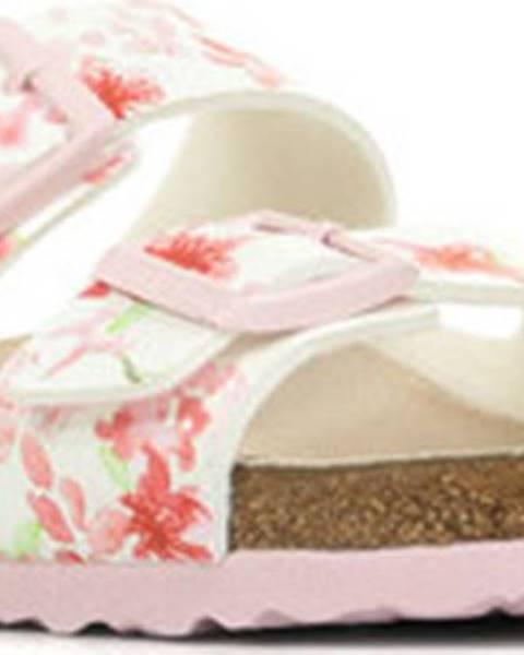 Bílé pantofle Birkenstock
