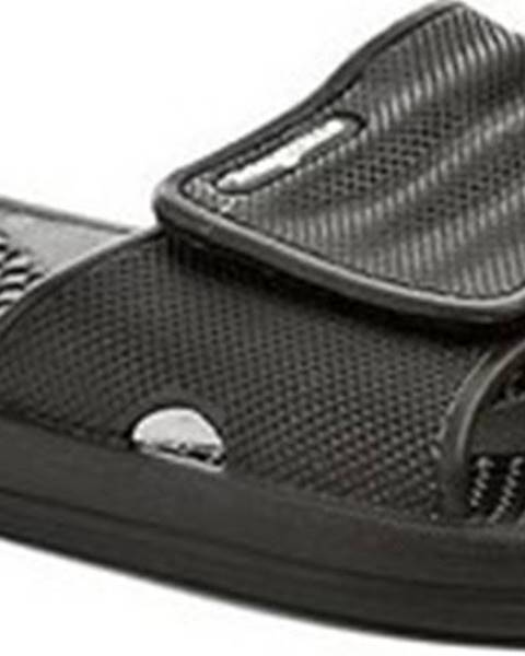 Černé pantofle Magnus