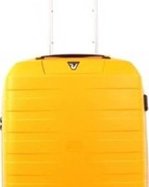 Žlutý kufr Roncato