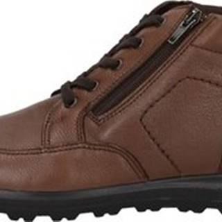 Enval Kotníkové boty 4226722 Hnědá