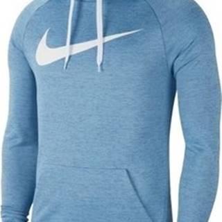 Nike Mikiny Dry Hoodie Swoosh Modrá