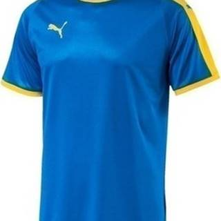 Puma Trička s krátkým rukávem Liga Jersey Tshirt Modrá