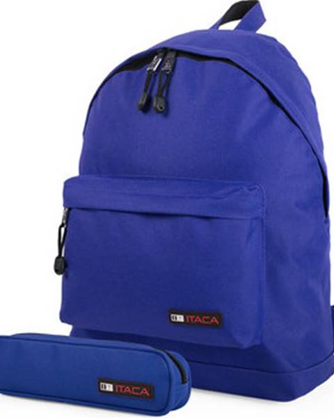Fialový batoh Itaca