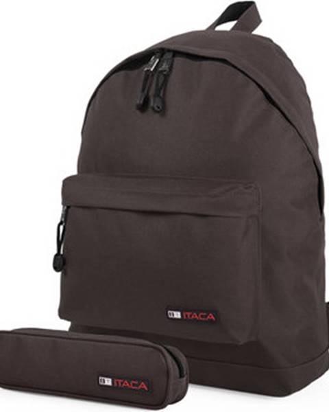 Hnědý batoh Itaca