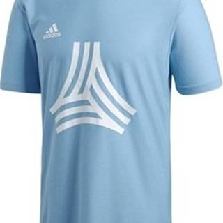 adidas Trička s krátkým rukávem Tango Logo Modrá