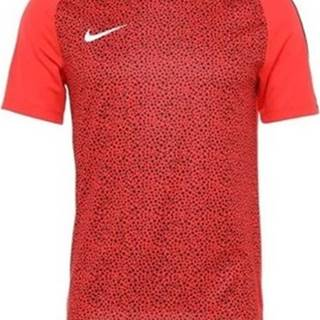 Nike Trička s krátkým rukávem M NK Dry Acdmy Top SS GX2 Červená