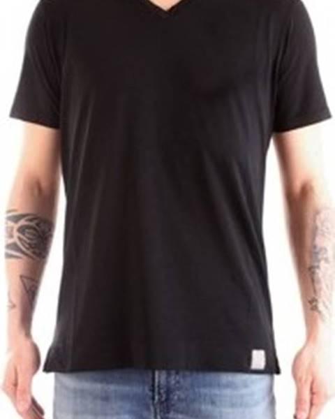 Černé tričko Daniele Fiesoli