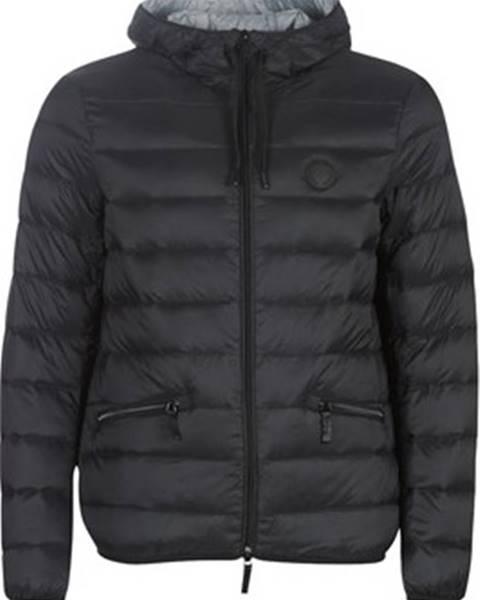 Černá bunda Armani Exchange