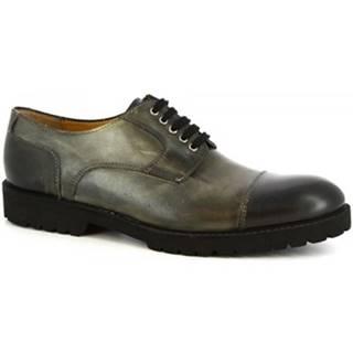 Leonardo Shoes Šněrovací polobotky 101 SIVIGLIA GRIGIO