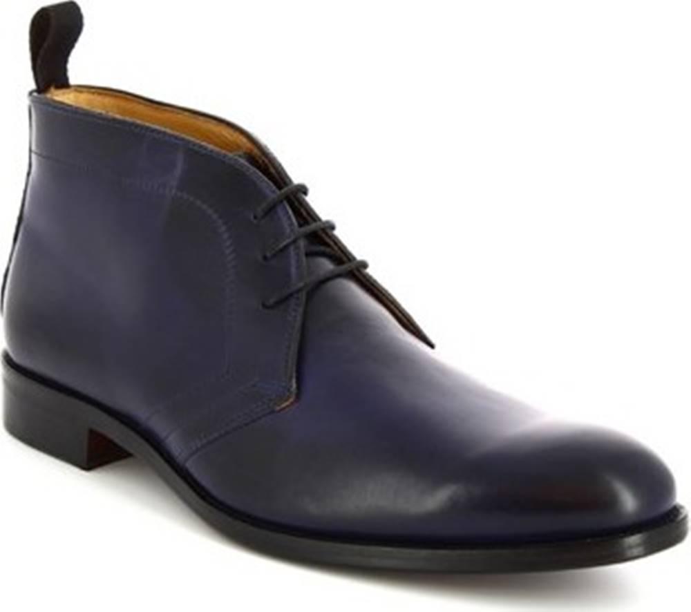 Leonardo Shoes Leonardo Shoes Kotníkové boty 07037 FORMA 40 NAIROBI OCEANO Modrá