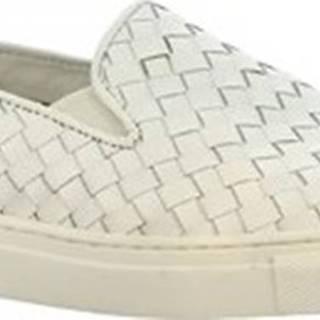 Leonardo Shoes Street boty TARA WHITE Bílá