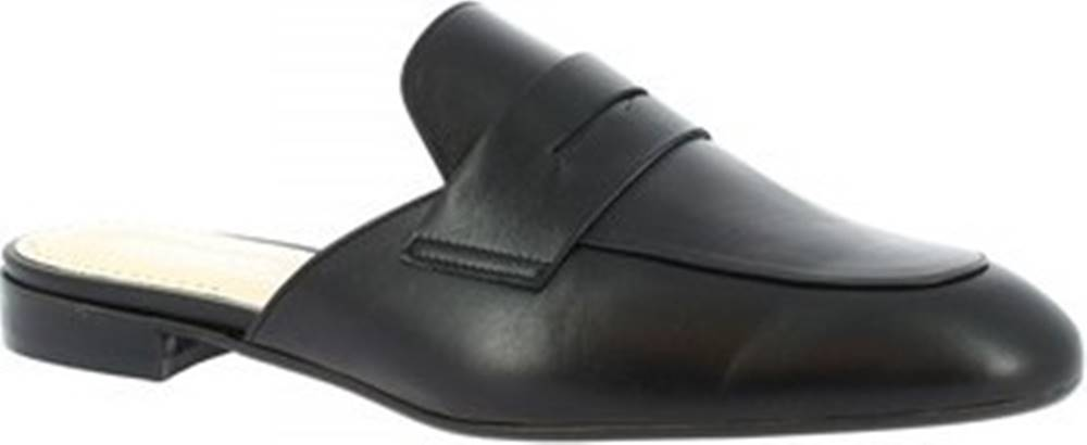 Leonardo Shoes Leonardo Shoes Pantofle 080 NAPPA NERO Černá