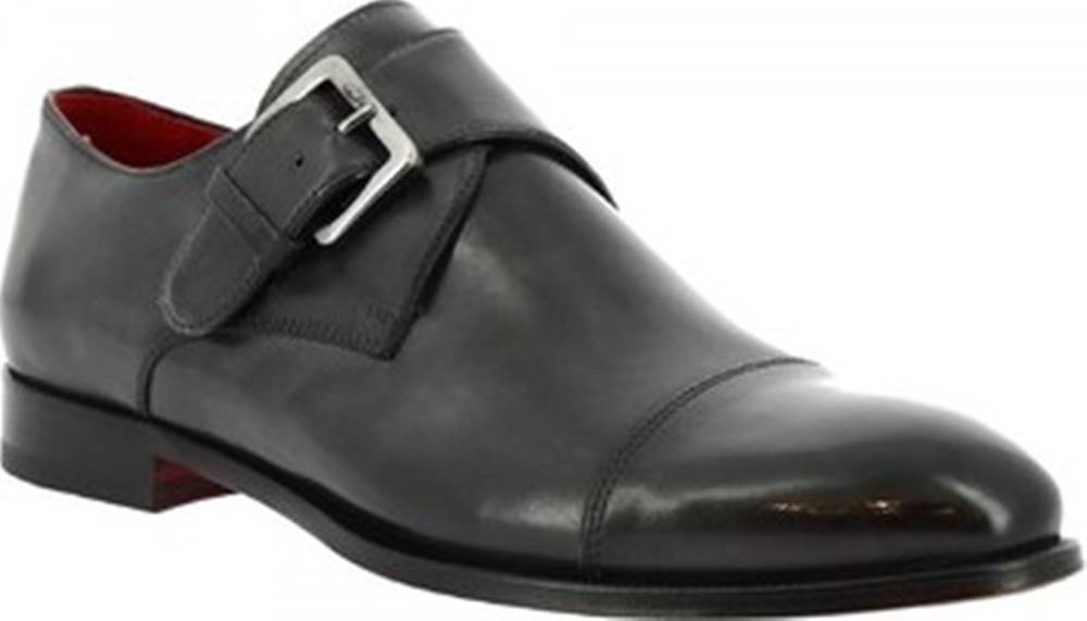 Leonardo Shoes Leonardo Shoes Mokasíny 9452E20 TOM MONTECARLO DELAVE GRIGIO