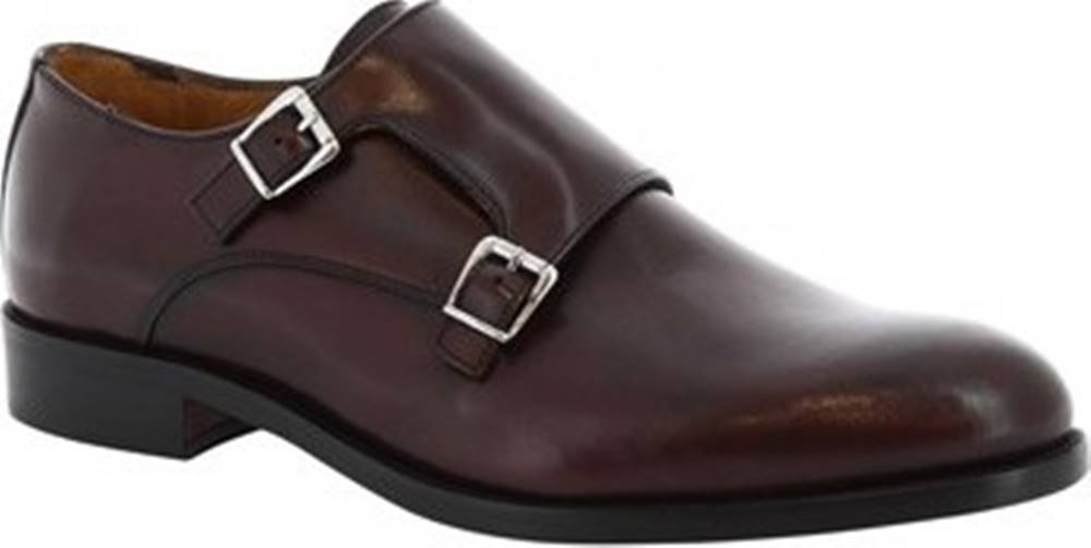 Leonardo Shoes Leonardo Shoes Mokasíny 07674 NAIROBI BORDO Červená