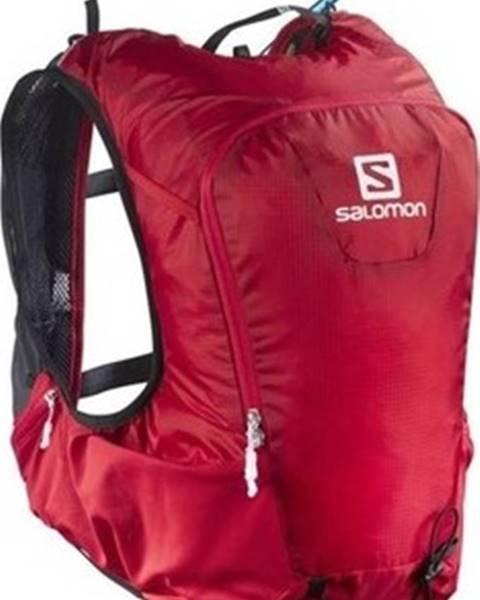 Červený batoh Salomon