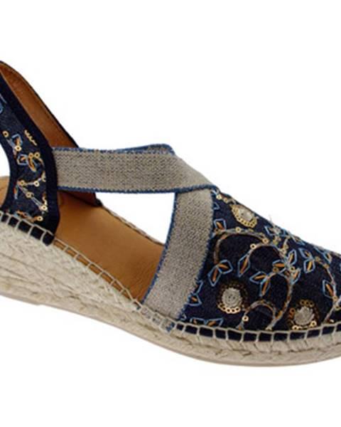 Modré sandály Toni Pons