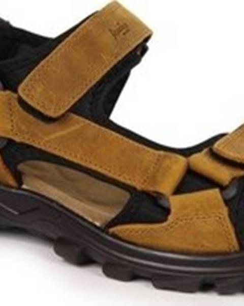 Hnědé sandály American CLUB