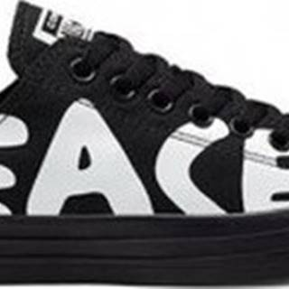 Converse Tenisky Chuck Taylor All Star Ox Peace Powered Černá