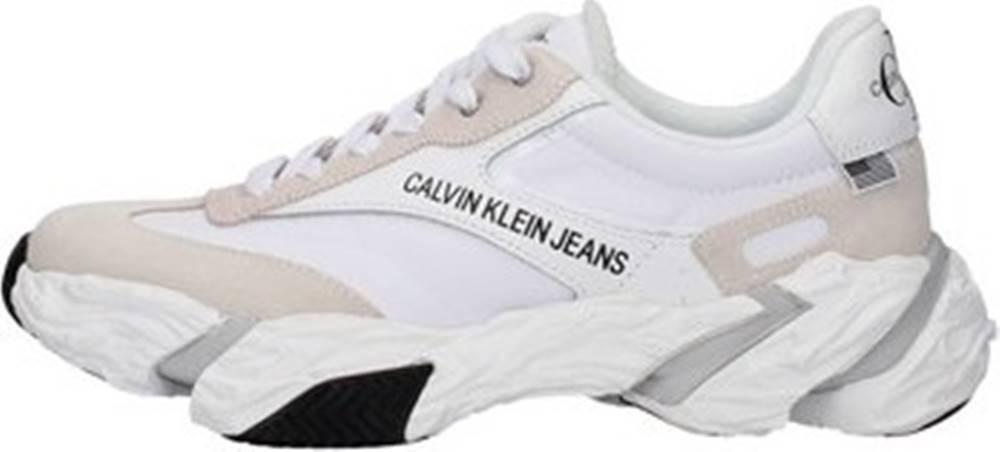 calvin klein jeans Calvin Klein Jeans Tenisky B4S0667 Bílá