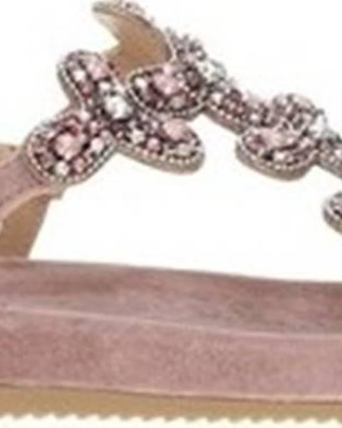 Růžové sandály Alma En Pena