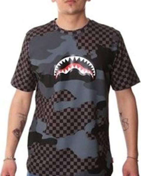 Černé tričko Sprayground