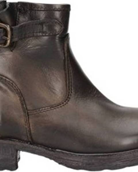 Hnědé boty Zoe