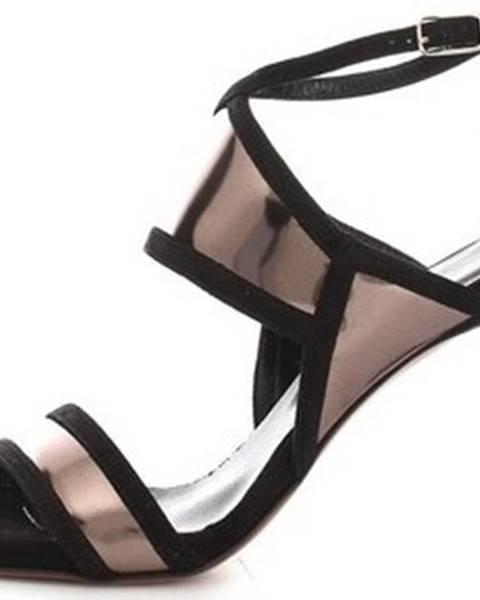 Černé sandály Alexandra/marta Mari