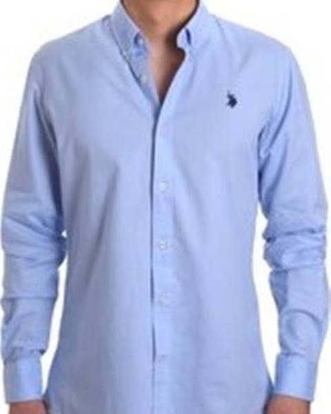 Modrá košile u.s. polo assn.