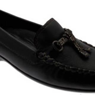 Moda Donna Mokasíny MD5496ne Černá