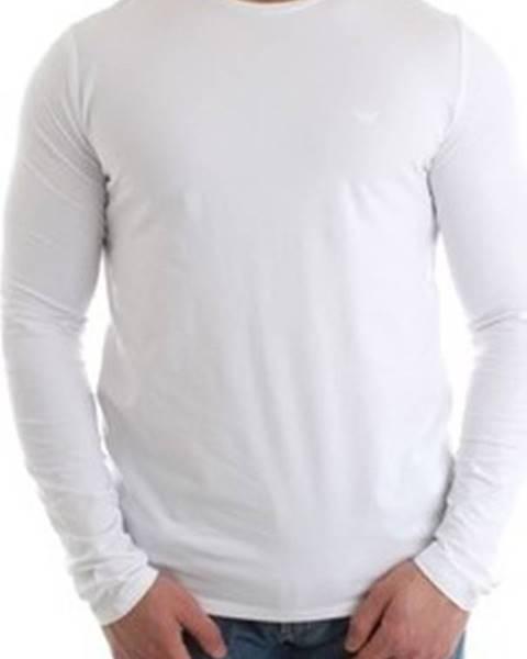 Bílé tričko Armani