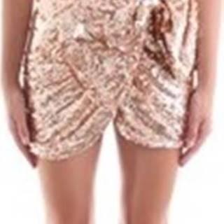 Elisabetta Franchi Krátké šaty AR39J97E2 Růžová