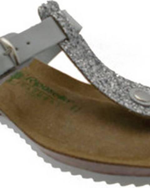 Bílé pantofle Riposella