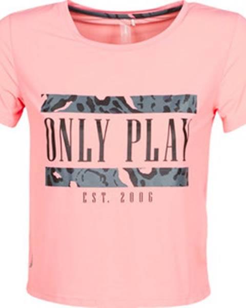Růžový top Only Play