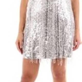 Aniye By Krátké šaty I98181250 Stříbrná