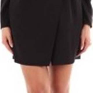 Self-Portrait Krátké šaty SP23063S Černá