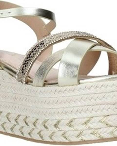 Zlaté sandály Gold gold