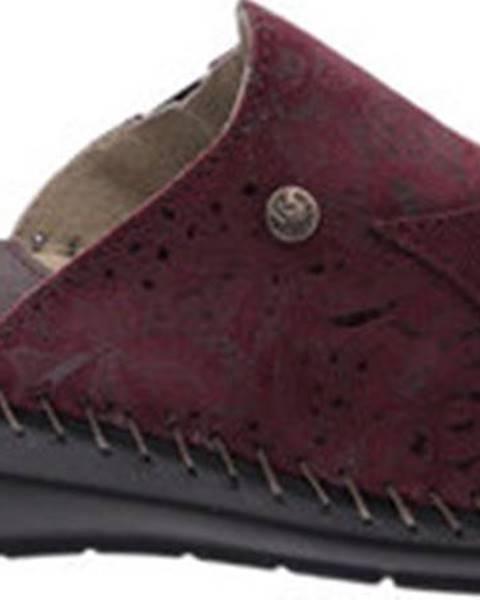 Modré pantofle Riposella