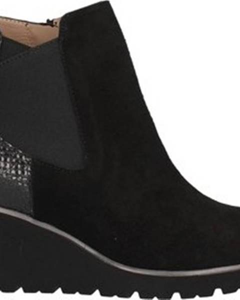 Černé boty Melluso