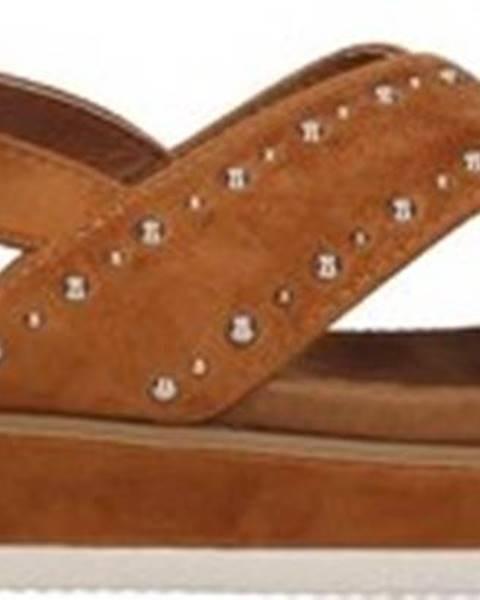 Hnědé sandály Refresh
