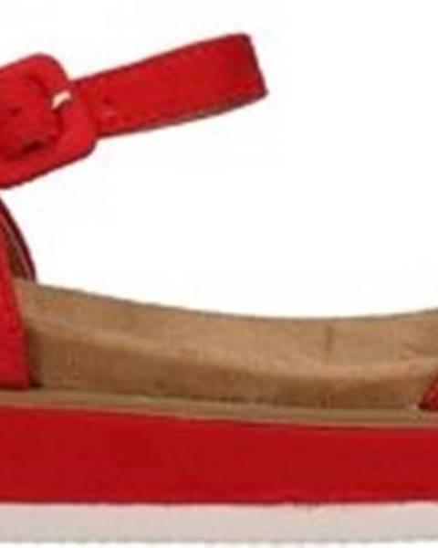 Červené sandály Refresh