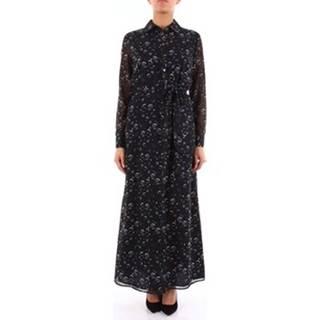 Alessandro Dell'acqua Společenské šaty ADW6376LN0144 Modrá