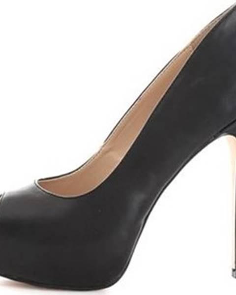 Černé boty Gattinoni