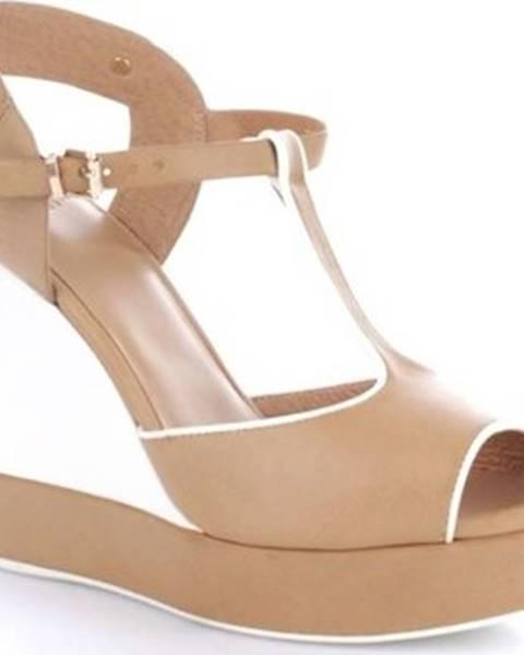 Bílé pantofle Luciano Barachini