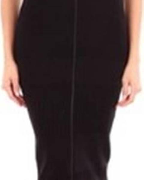 Černé šaty McQ Alexander McQueen