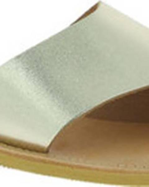 Zlaté sandály Attica Sandals