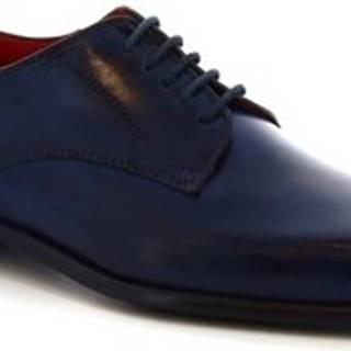 Leonardo Shoes Šněrovací polobotky LOR V. BLU Modrá