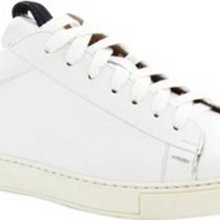 Leonardo Shoes Tenisky 7729 TOM FRANCH BIANCO Bílá